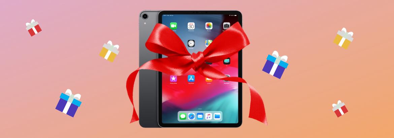 Découvrez le gagnant de l'iPad !