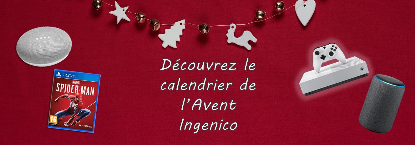 Le calendrier de l'Avent Ingenico !