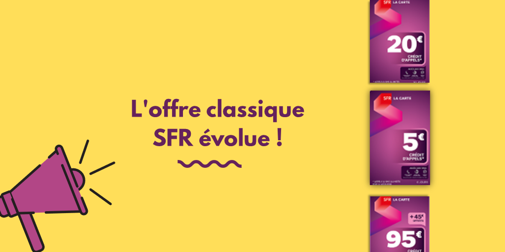 La gamme classique d'SFR évolue!